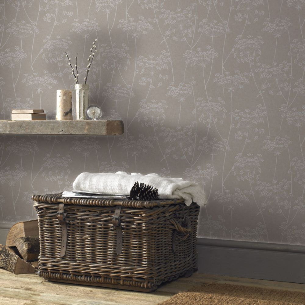 Graham and Brown Aura Taupe 33-301 Wallpaper